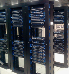 With cloud-based services, the suppliers take care of the off-premise servers.